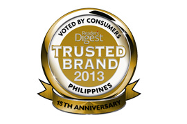 Reader's Digest Asia Gold Awardee DMCI Homes was awarded with a Gold Reader's Digest Asia Trusted Brand Awards, considered 'The Ultimate Seal of Consumer Approval'. It is based on consumer responses from different countries in Asia to determine the brands that they feel are the most trustworthy. A Gold Award means that the brand's rating score clearly excels above other brands in the category.
