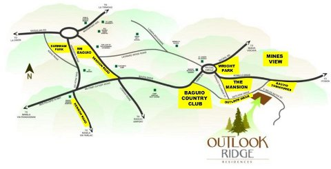 Outlook Ridge Location Map